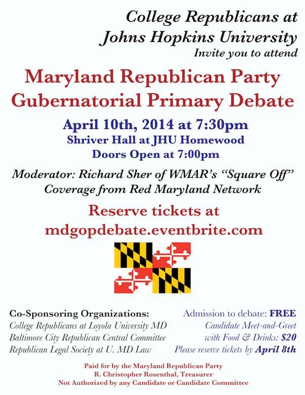 20140410 - Gubernatorial Debate